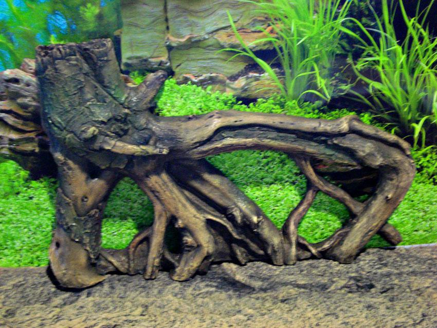 Как изготовить корягу для аквариума